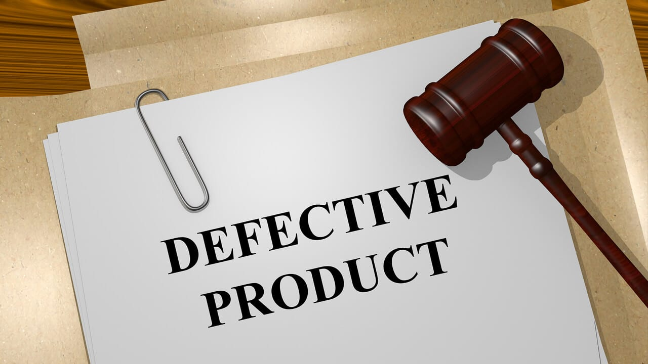 Can I Sue for a Defective Product?