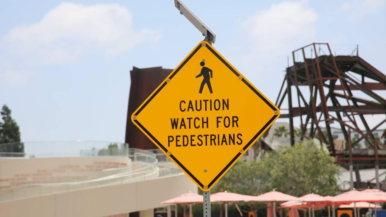 Pedestrian's Rights in a Crosswalk